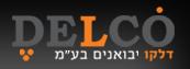DELCO. סגול ב־D, נקודה מעל O באמצע (כמו מעל הווי״ו בחולם)